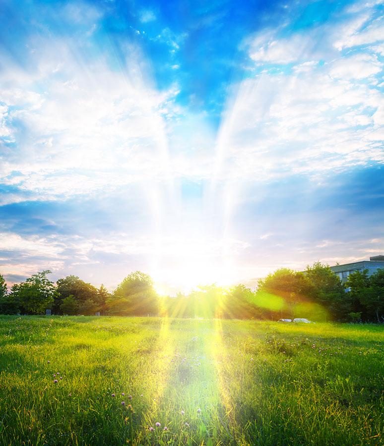 Soin de thérapie angélique ciel anges