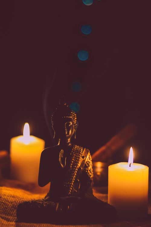 massages des cinq éléments bougies zen yoga